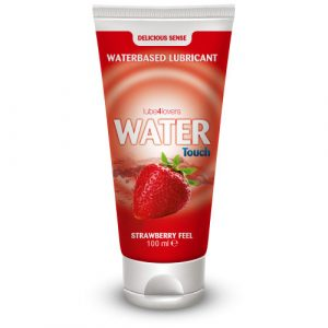 TOYZ4LOVERS - LUBE4LOVERS - Lubrificante all'acqua water touch strawberry 100ml