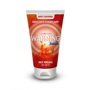TOYZ4LOVERS - LUBE4LOVERS - Lubrificante effetto calore warming touch 50ml