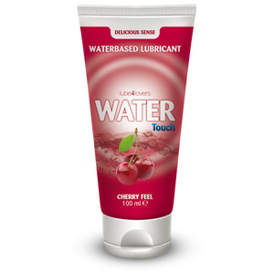 TOYZ4LOVERS - LUBE4LOVERS - Lubrificante all'acqua water touch cherry 100 ml