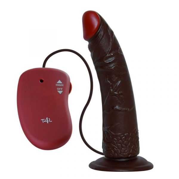 TOYZ4LOVERS - REAL RAPTURE - Vibratore realistico real rapture brown 7''
