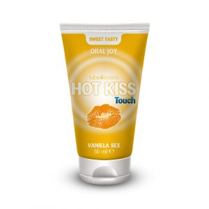 TOYZ4LOVERS - LUBE4LOVERS - Lubrificante commestibile lick-it hot kiss touch vanilla gel 50ml
